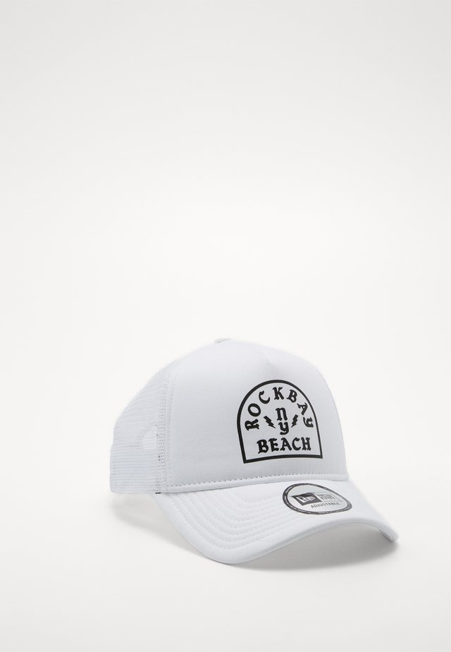 ROCKBAY BEACH TRUCKER  - Cappellino - white/black