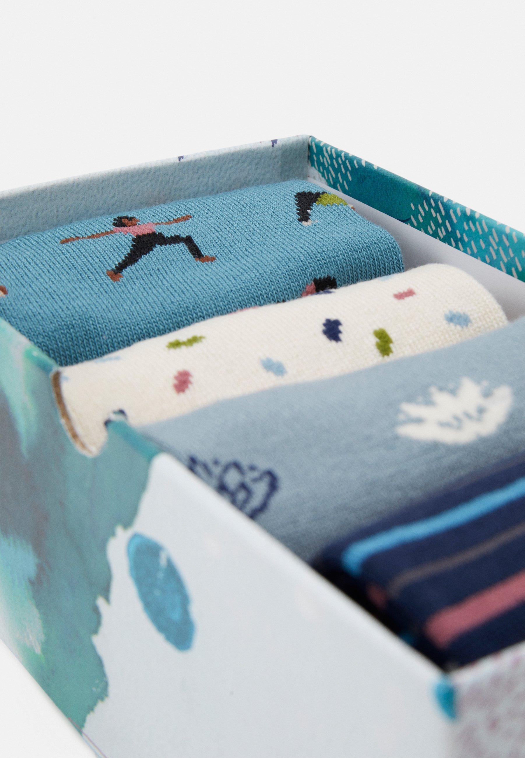Donna MORNIE YOGI SOCK BOX 4 PACK - Calze