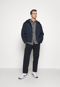 Armani Exchange - BLOUSON JACKET - Light jacket - navy - 1