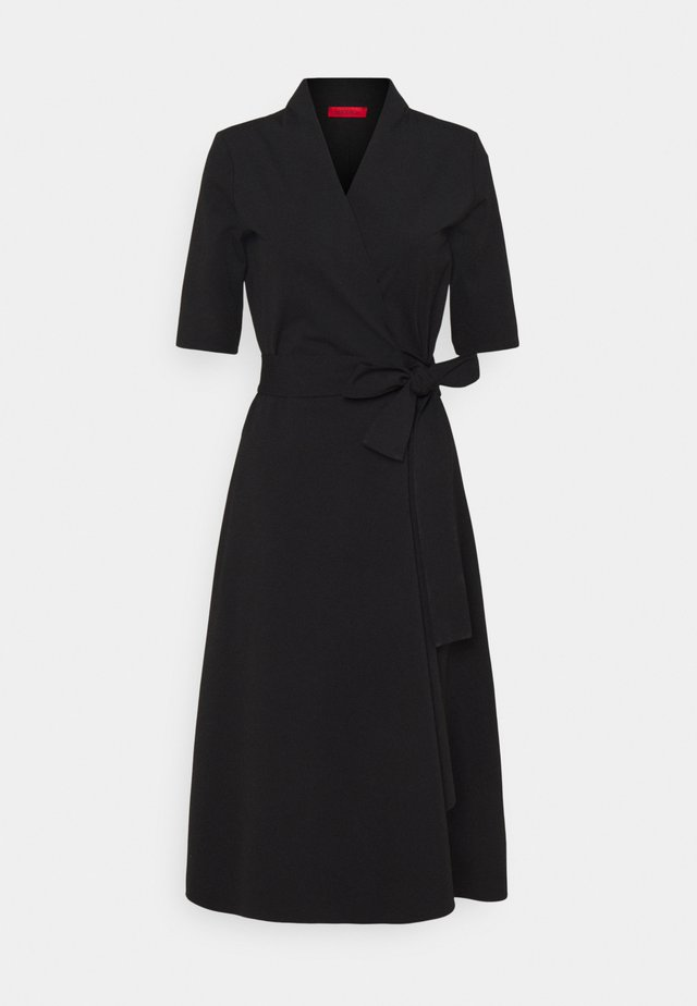 CULMINE - Robe longue - black