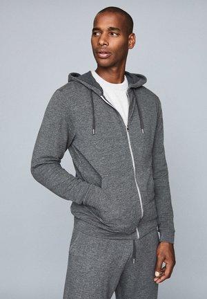 GREG - Zip-up sweatshirt - dark grey