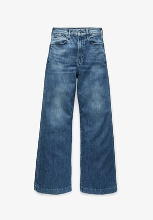 DECK ULTRA HIGH WIDE LEG - Flared Jeans - faded santorini