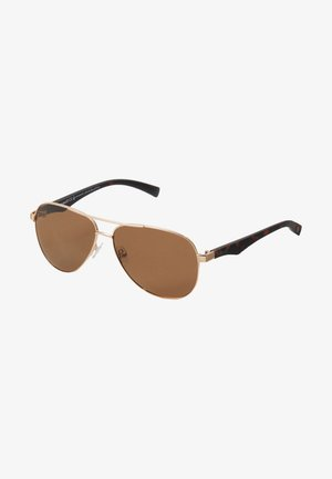 Gafas de sol - gold/brown
