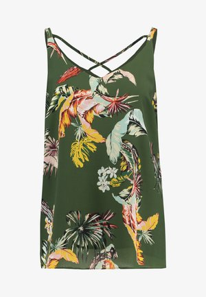 PARROT VOLUME CAMI - Top - khaki