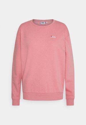 EDIE CREW - Sweatshirt - peony