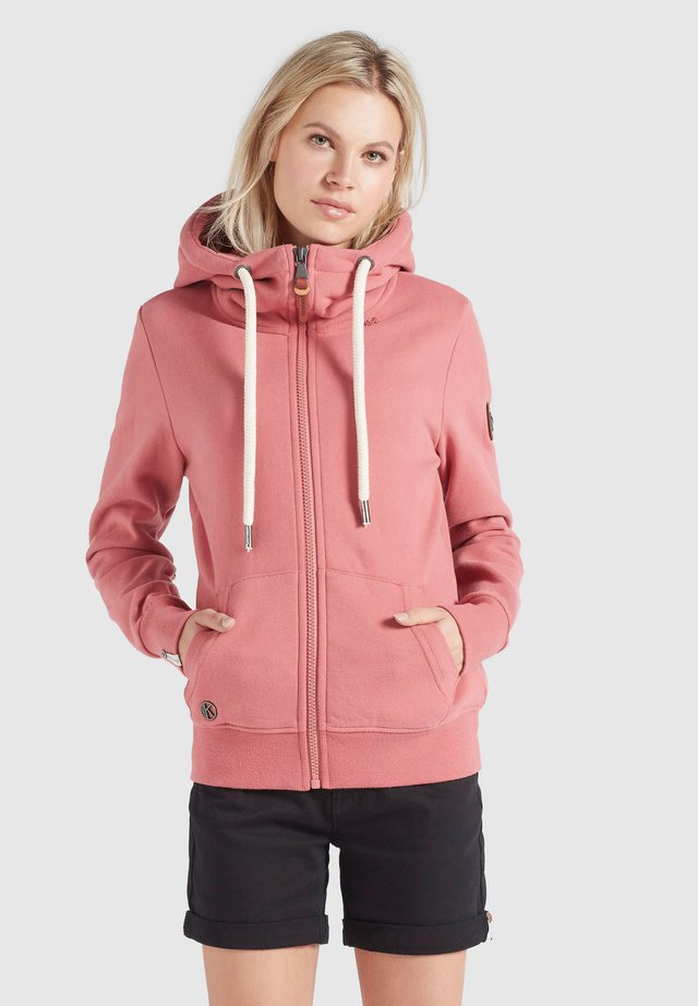 WANARI - Zip-up hoodie - rosa
