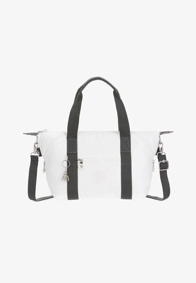 Handbag - White Metallic