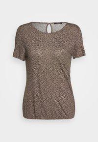 Opus - SIEKE FRECKLES - Print T-shirt - peanut - 3