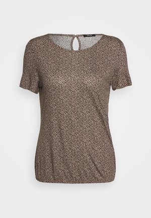 SIEKE FRECKLES - Print T-shirt - peanut