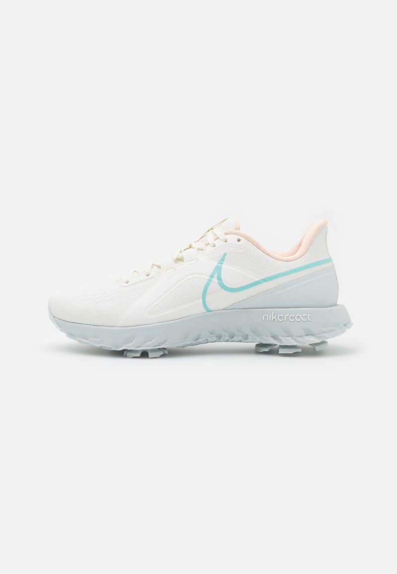 Nike Golf - REACT INFINITY PRO - Chaussures de golf - sail/light dew/crimson tint/photon dust