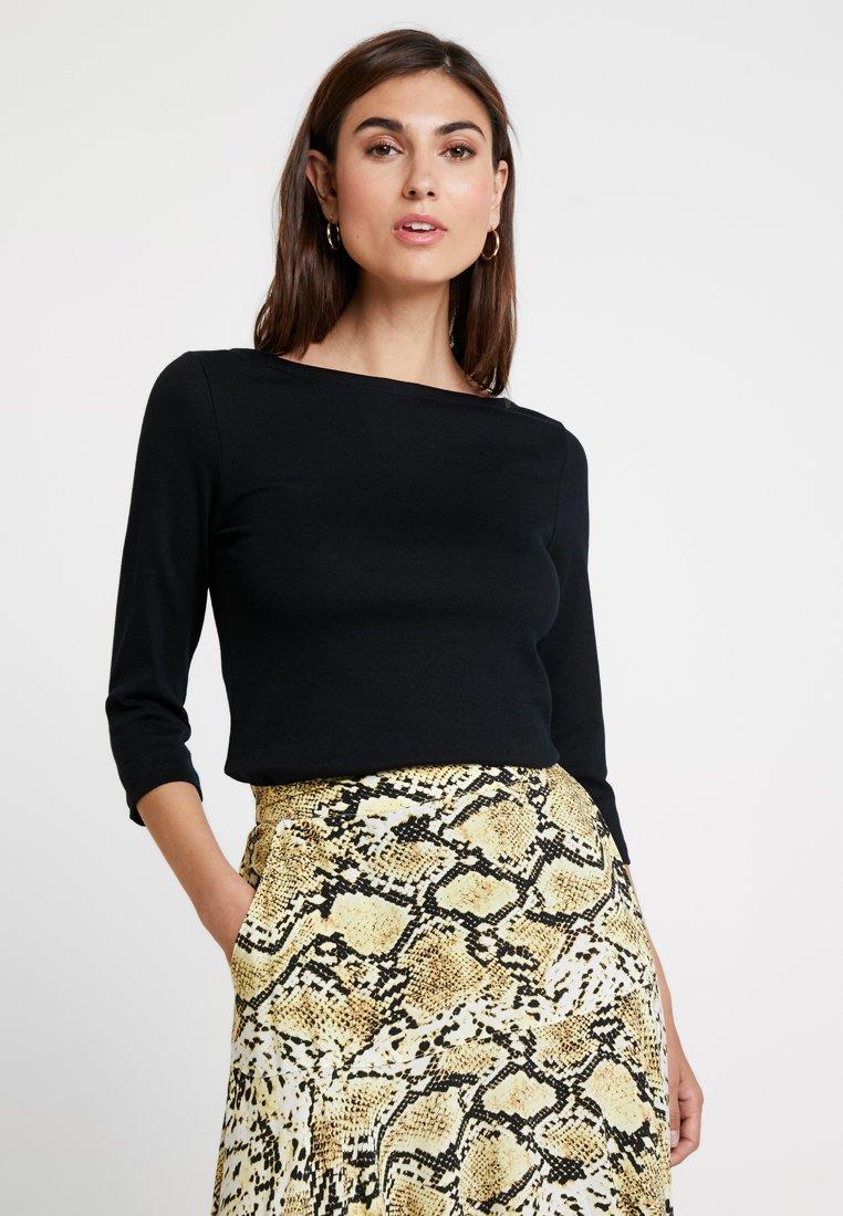 GAP - BALLET - Long sleeved top - true black