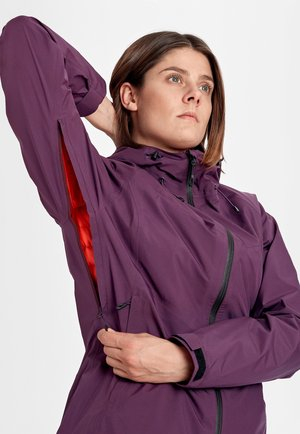 CONVEY - Soft shell jacket - blackberry-spicy