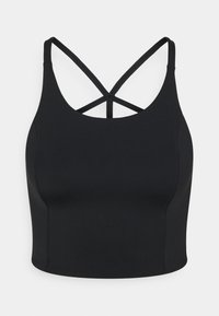 Cotton On Body - STRAPPY CROSS BACK VESTLETTE - Toppe - black - 0