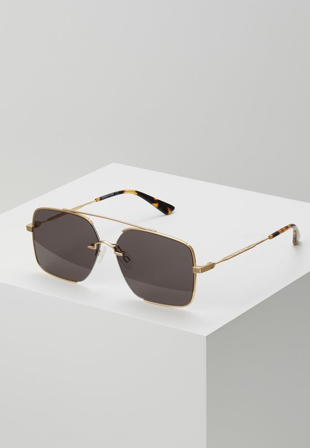 Lunettes de soleil - gold-coloured/green
