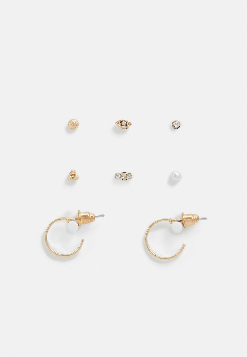 Topshop - ECLECTIC EAR PARTY 8 PACK - Earrings - gold-coloured