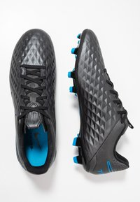 Nike Performance - TIEMPO LEGEND 8 ACADEMY FG/MG - Moulded stud football boots - black/blue hero - 1