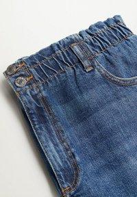 Violeta by Mango - PAPERBAG - Straight leg jeans - dunkelblau - 6