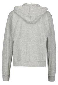 Nike Performance - GYM VINTAGE - veste en sweat zippée - grey - 1