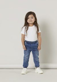 Name it - BAGGY FIT - Relaxed fit jeans - medium blue denim - 0