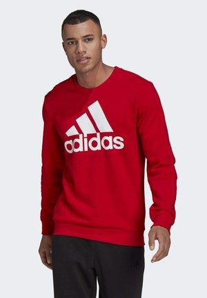 ESSENTIALS BIG LOGO - Sweatshirt - red