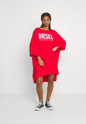 EXTRA ECOLOGO - Jersey dress - red