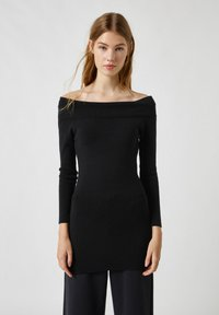 PULL&BEAR - Day dress - black - 0