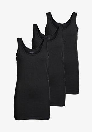 3 PACK - Top - schwarz (black)