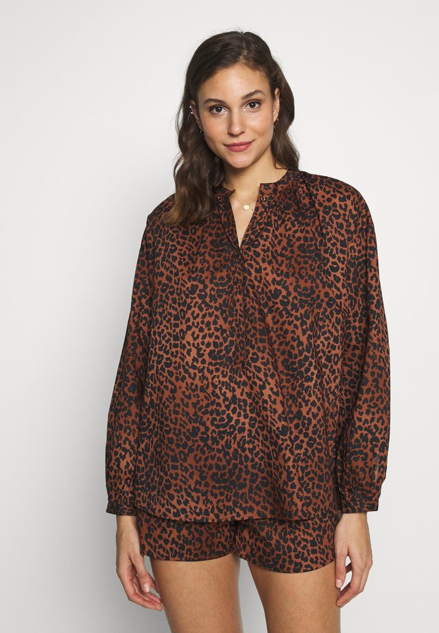MILA - Camicia - classic leopard