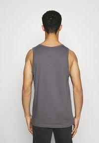 Nike Sportswear - CLUB TANK - Top - dark grey/white/black - 2
