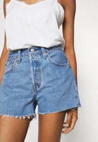 Levi's® - 501® ORIGINAL - Jeansshort - blue denim - 5