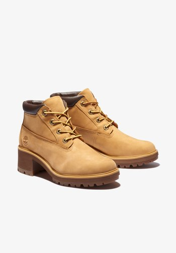 KINSLEY WP NELLIE - Lace-up ankle boots - wheat nubuck