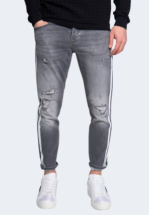 SLIM ANKLE LENGHT   - Jeans slim fit - black