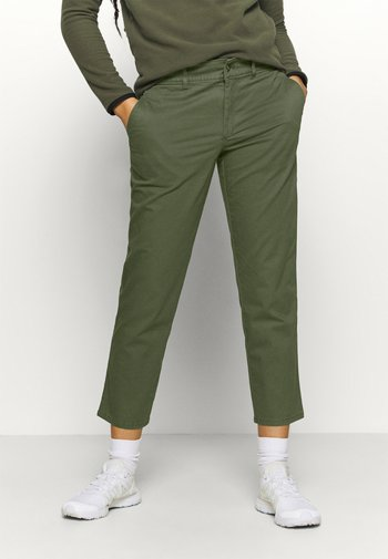MOTION ANKLE  - Trousers - new taupe green
