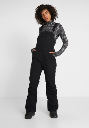 AVALON BIB - Snow pants - true black