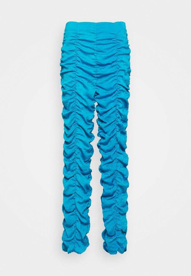 VITA PANTS - Tygbyxor - blue