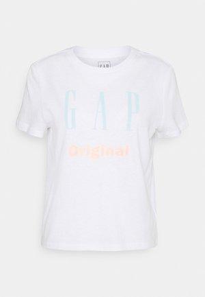 ORIG SHRUNKEN TEE - T-shirts med print - optic white
