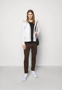 C.P. Company - OUTERWEAR  SHORT JACKET - Summer jacket - gauze white - 1