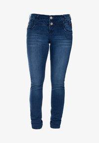 S'questo - Slim fit jeans - dark indigo - 0