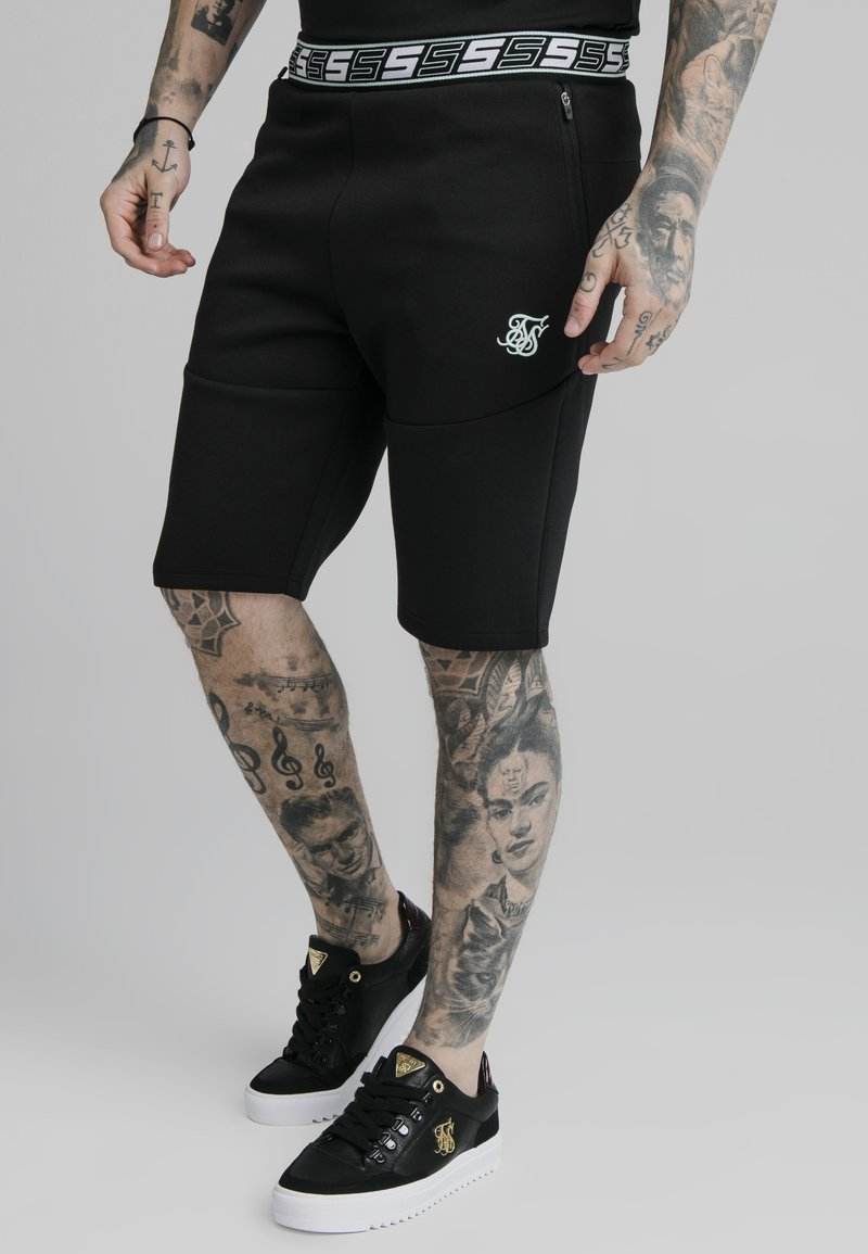 SIKSILK - EXHIBIT FUNCTION - Shorts - black