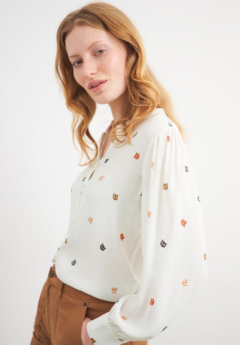 White Stuff - ALAIA  - Blouse - elfenbeinfarben mehrfarbig