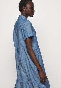 HUGO - ENNISH - Košilové šaty - medium blue - 3