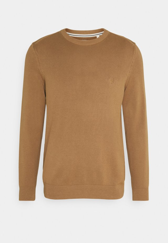 CREW NECK - Jumper - camel