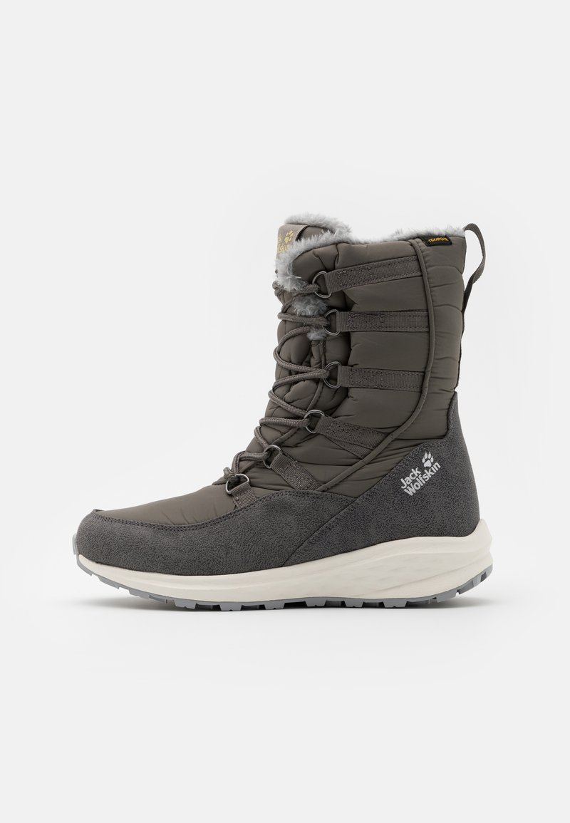 Jack Wolfskin - NEVADA TEXAPORE HIGH - Zimní obuv - dark grey/light grey