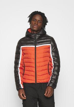 Winter jacket - black / orange