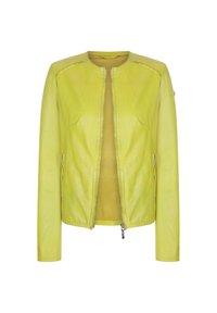 Milestone - MARISSA - Leather jacket - gelb - 2