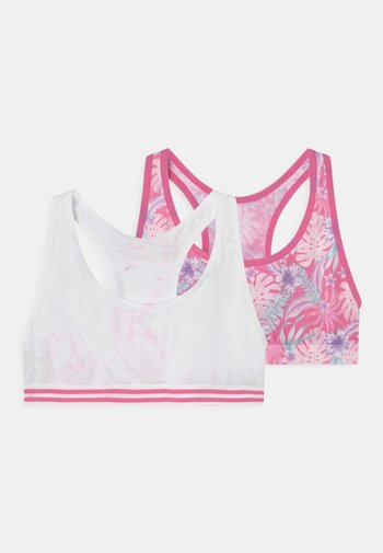 TROPICAL 2 PACK - Bustier - bright pink