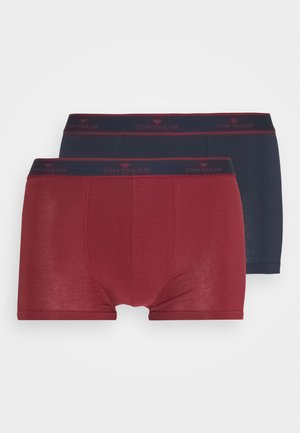 PANTS 2 PACK - Boxerky - red