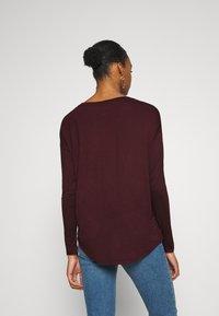 GAP - LUXE - Maglietta a manica lunga - pinot noir - 2