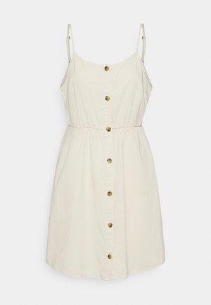 VMFLICKA STRAP SHORT DRESS COLOR - Denim dress - birch