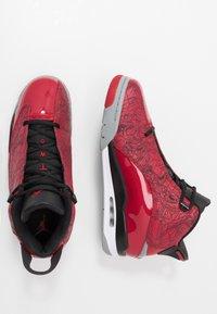 Jordan - AIR DUB  - Korkeavartiset tennarit - gym red/black/particle grey - 1